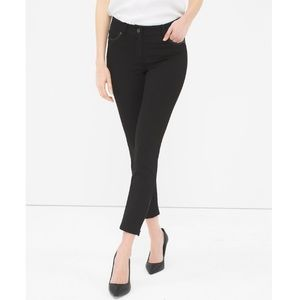 NWT WHBM The skinny ankle with zipper details pant